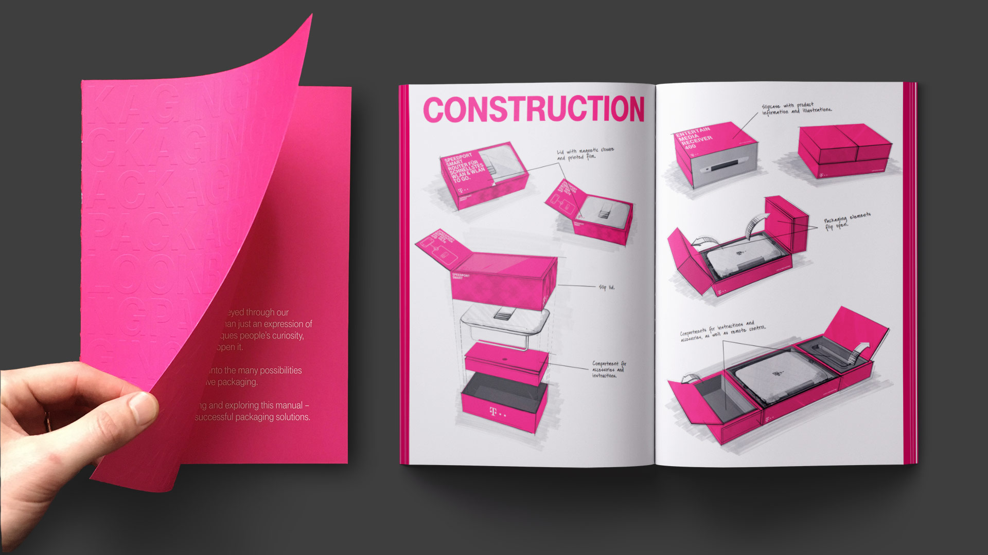 Telekom Packaging: Lookbook